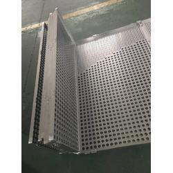 铝单板冲孔 木纹热转印表面处理 免费快速冲孔厂家图片