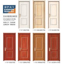 工程夹板门-实木工程夹板门-陈氏门业图片