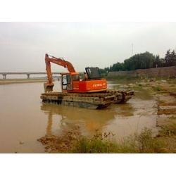 水陆挖机出租报价、城南文淼设备齐全、莆田水陆挖机出租图片