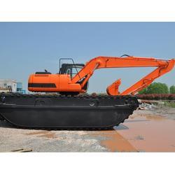 水路挖掘机租凭-灯塔水路挖掘机-文淼租金更低的船挖机图片