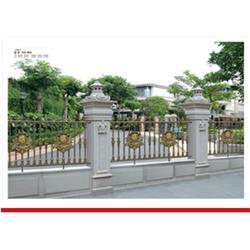 别墅铝艺围栏安装,墨色江南铝制品公司,聊城铝艺围栏图片
