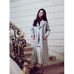 双面羊绒大衣品牌女,中山双面羊绒大衣,羊绒大衣服装厂图片