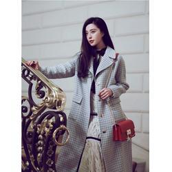 金华羊绒大衣-羊绒大衣加工-双面山羊绒大衣厂(多图)图片