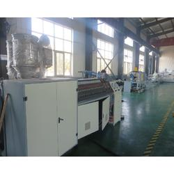 双壁波纹管生产线,同三塑机,hdpe双壁波纹管生产线图片