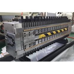 青岛同三塑料机械,中空格子板生产线现货,中空格子板生产线图片