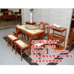 荆门红木、红木餐桌、盛世锜(优质商家)图片