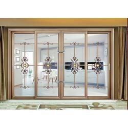岳阳铝合金推拉门,泓烯门窗值得信赖,别墅铝合金推拉门图片