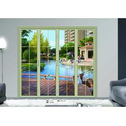 折叠门、泓烯门窗诚招经销商、中式折叠门图片