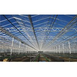玻璃连栋温室造价,安塞玻璃连栋温室,齐鑫温室园艺小唐图片