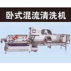连续式洗菜机厂家、自贡连续式洗菜机、福莱克斯炊事机械生产图片