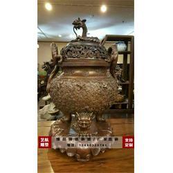 寺庙铜香炉厂家图片