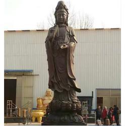 寺庙铸铜佛像_山西铸铜佛像_博轩雕塑图片