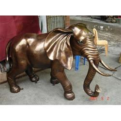 景观铸铜大象摆件 廊坊景观铸铜大象 博轩铜雕厂
