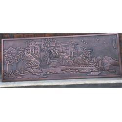 酒店大堂铜浮雕|博轩铜雕塑|广东铜浮雕图片