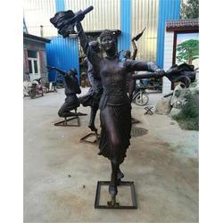校园人物铜雕塑厂家-阿图什校园人物铜雕塑-博轩铜雕图片