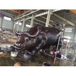 博轩铜雕厂-大型拓荒牛雕塑-长治大型拓荒牛雕塑图片