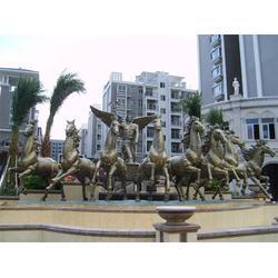 阿波罗战车铜雕塑哪家好 博轩雕塑 内蒙古阿波罗战车铜雕塑图片