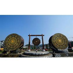 铜鼓雕塑加工厂、贵州铜鼓雕塑、博轩雕塑(查看)图片