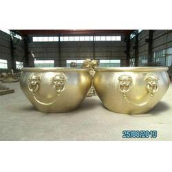 铸铜大缸雕塑直销、博轩雕塑、广东铸铜大缸雕塑图片
