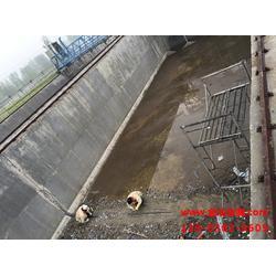舞钢市污水处理厂污水池防水堵漏图片
