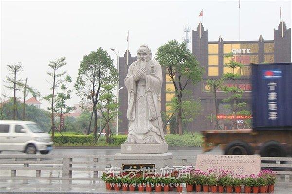 博轩雕塑,湖南孔子铜像,孔子铜像厂家图片