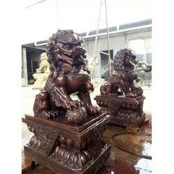 博轩铜雕,纯铜狮子厂家,河南铜狮子