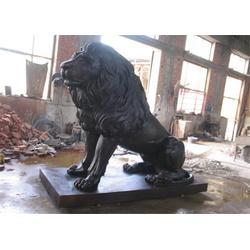 重庆铜狮子,博轩雕塑,仿古铜狮子图片