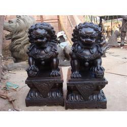 博轩雕塑厂,镇宅铜狮子铸造,福建铜狮子图片