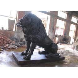 宁夏铜狮子|博轩铜雕厂|纯铜狮子定做