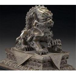 山东铜狮子,博轩铜雕塑,门口铜狮子雕塑批发