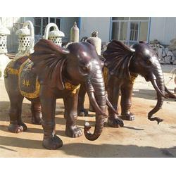 铜大象雕塑厂家,天津铜大象,博轩铜雕厂图片
