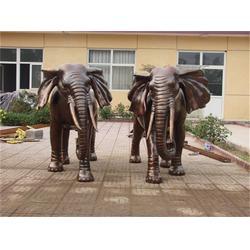 贵州景观铜大象雕塑 博轩雕塑 定做景观铜大象雕塑图片