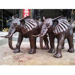 上海铜大象雕塑-铜大象雕塑定做-博轩雕塑图片