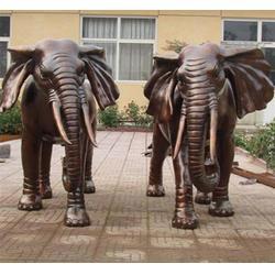 北京园林铜大象雕塑|园林铜大象雕塑加工厂|博轩雕塑