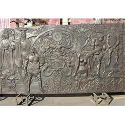 天津铜浮雕,博轩雕塑,展览馆铜浮雕图片