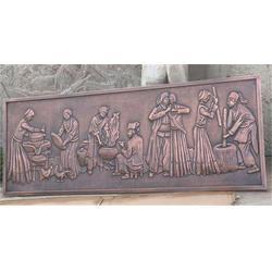 铸铜浮雕厂家_贵州铜浮雕_博轩雕塑图片