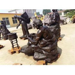 上海铜雕人物-博轩雕塑-铜雕人物加工厂图片