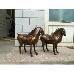 博轩铜雕_八骏铜马雕塑_重庆铜马雕塑图片