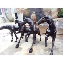 铜马雕塑铸造厂|浙江铜马雕塑|博轩雕塑图片