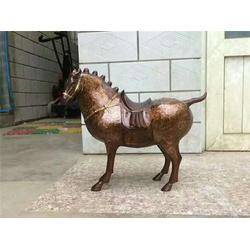 博轩铜雕塑|八骏铜马雕塑|新疆铜马雕塑图片