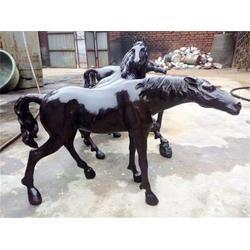 铜马雕塑多少钱,上海铜马雕塑,博轩铜雕塑图片