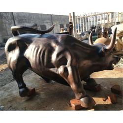 华尔街铜牛雕塑铸造厂_台湾华尔街铜牛雕塑_博轩雕塑价格