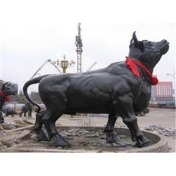 博轩铜雕塑、湖北开荒牛雕塑、开荒牛雕塑铸造厂图片