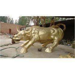 上海拓荒牛雕塑、博轩雕塑、5米拓荒牛雕塑图片
