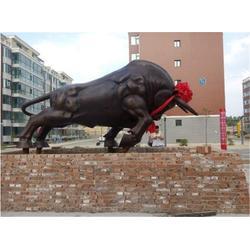 广东开荒牛雕塑,博轩雕塑,大型开荒牛雕塑图片