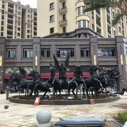 博轩雕塑_青海阿波罗战车雕塑_阿波罗战车雕塑图片