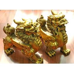 镇宅铜貔貅雕塑制造厂、宁夏镇宅铜貔貅雕塑、博轩雕塑图片