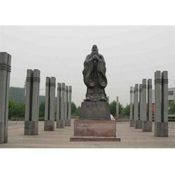 孔子铜雕塑厂家、江苏孔子铜雕塑、博轩雕塑图片