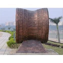 博轩雕塑(图)_广场铜鼓雕塑厂家_吉林广场铜鼓雕塑