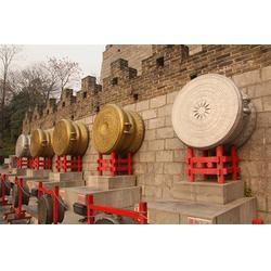 博轩雕塑、河南铸铜鼓雕塑、铸铜鼓雕塑铸造厂图片